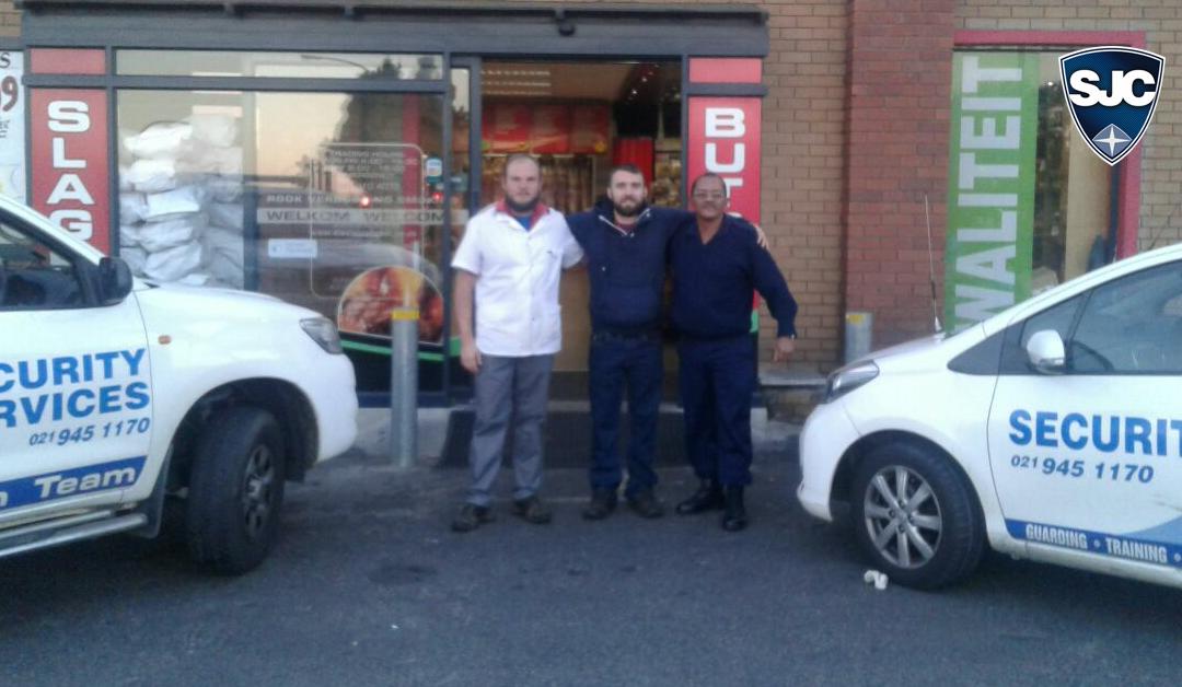 SJC Security Responds to Die Vleis Winkel Robbery