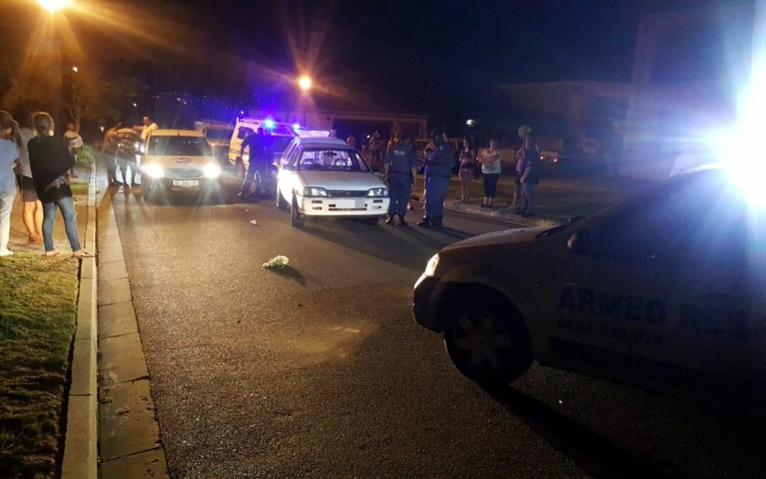 Highspeed chase ends in Kleinbron Estate